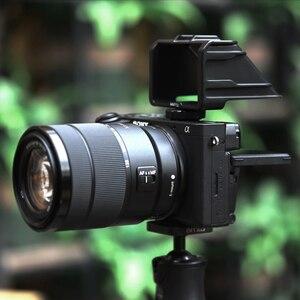 Image 4 - UURig Selfie Flip สำหรับ Sony A6000 A6300 A6500 A72 A73 Canon EOS Panasonic GX85 Nikon Periscope Solution กล้อง Mirrorless