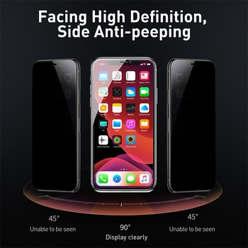 Baseus 2 шт 0,23 мм протектор экрана для IPhone 11 Pro Max защита конфиденциальности полная защитная пленка из закаленного стекла для IPhone