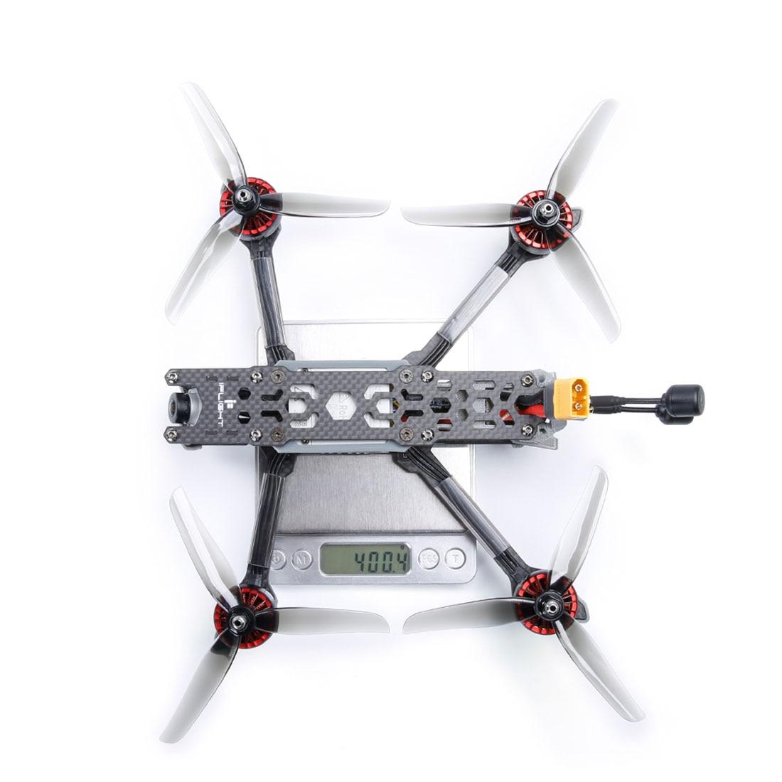 IFlight TITAN DC5 5 дюймов 222 мм 4S/6s HD FPV гоночный Дрон BNF SucceX D F7 50A стек XING E 2207/2450 кв мотор от вертолета игрушка - 6