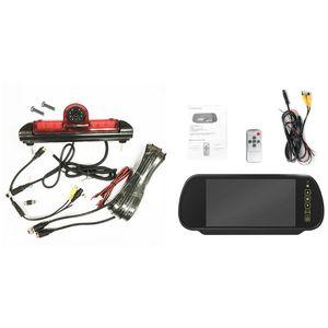 Image 5 - Luz de Freio de LED IR Rear View Invertendo Estacionamento Camera & 7 Polegada Monitor Kit para Fiat Ducato Para Citroen Relay para Peugeot Boxer