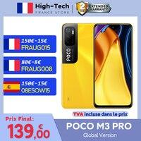 """POCO M3 Pro versión Global 5G Smartphone NFC de la dimensión 700 Octa Core 90Hz 6,5 """"DotDisplay 5000mAh 48MP Triple 5000mAh Cámara"""