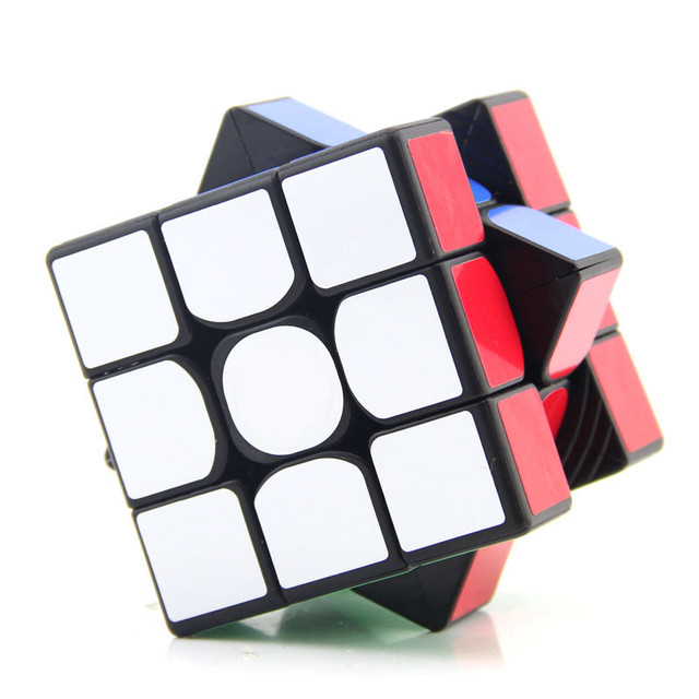 Yuxin Little Magic 3x3 Cube Black/Stickerless/white Sticker Puzzle Early Educational Toy 3