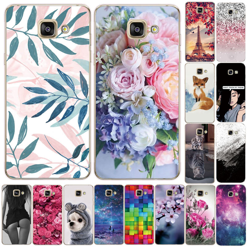Soft Silicone TPU Case For Samsung Galaxy A3 A5 A6 A7 A8 2016 2017 2018 Back Case For Samsung A750 A520 A510 A530 Phone Cove
