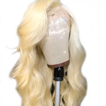 613 Honey Blonde Malaysian Body Wave Full Lace Wig Pre Plucked Remy Human Hair 8- 26 Inches Full Lace Wig With Baby Hair For Wom(China)
