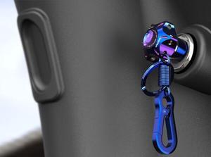 Universal CNC Key Bit Hexagon DIY Key Tip Key Head Cover for CF Moto-NK50 N1 N1S and other similar models