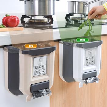 8L kuchnia składane kosz na śmieci s samochodowy kosz na śmieci kosz na śmieci kosz na śmieci kosz na śmieci kosz na śmieci kosz na śmieci do kuchni koszach recyklingu kosz na śmieci tanie i dobre opinie CN (pochodzenie) Prostokątne Do montażu na ścianie Ekologiczne Na stanie Wiadro na śmieci F480207 Wciskany Z tworzywa sztucznego