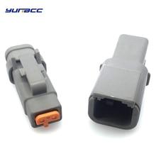 1Set 2pin Deutsch DTM connector Waterproof Electrical Inlet Air Temperature Sensor plug DTM06-2S / ATM06-2S DTM04-2P / ATM04-2P dtm 1207