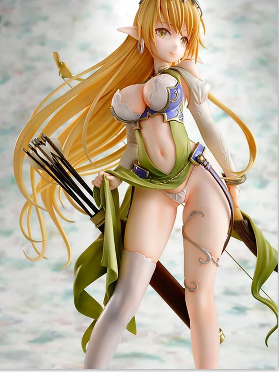 1/6 Anime Elf village girl Archeyle Limited PVC Sexy Dress up <font><b>dolls</b></font> Figures Collectible Model Toy image