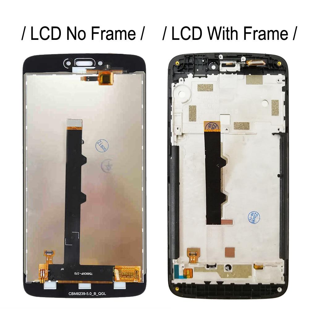 Image 3 - LCD With Frame For Motorola Moto C XT1750 XT1755 Xt1754 Display C plus XT1721 XT1722 XT1723 XT1724 LCD Screen Touch DigitizerMobile Phone LCD Screens   -