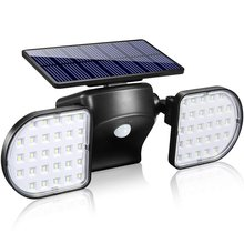 Street-Light Solar Square Induction Landscape Courtyard Double-Head Human Outdoors
