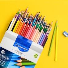 Marco 24/36/48/72colors Oil Color Pencil Set Artist Drawing Colour Pencil Crayon De Couleur Colores Para Pintar Rainbow Coloring