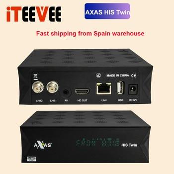 Full HD Satelliten-receiver Mit 2x DVB-S2 SAT Tuner Installiert Twin Linux E2 Open ATV vorinstalliert 1