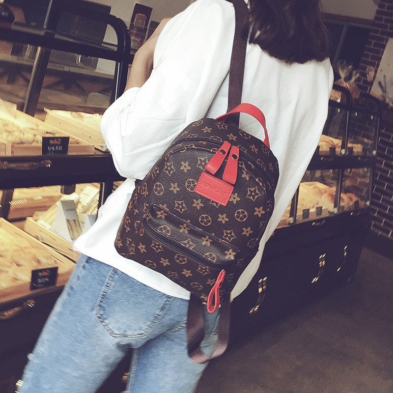 2020 Fashion Trend New Double Back Casual Ladies Backpack Shoulders Ladies