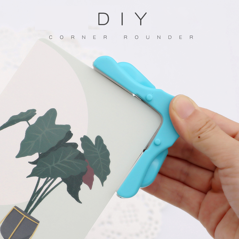 R5mm Paper Punch Corner Mini Corner Rounder Punch Planner Scrapbooking Card Paper Cutter Punch Hadmade Photo Paper Cutter Tool
