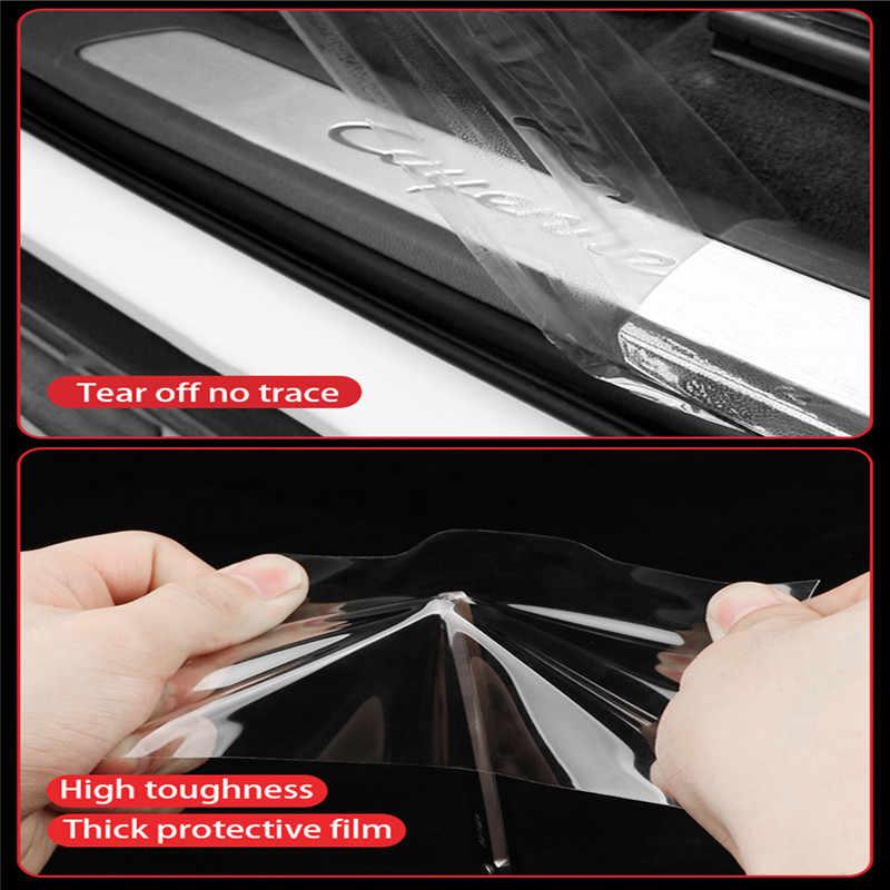 Автомобильная наклейка s многофункциональная Nano лента Автомобильная дверь наклейка для порога протектор Авто Бампер полоса Автомобильная дверь защита аксессуары для защиты от царапин