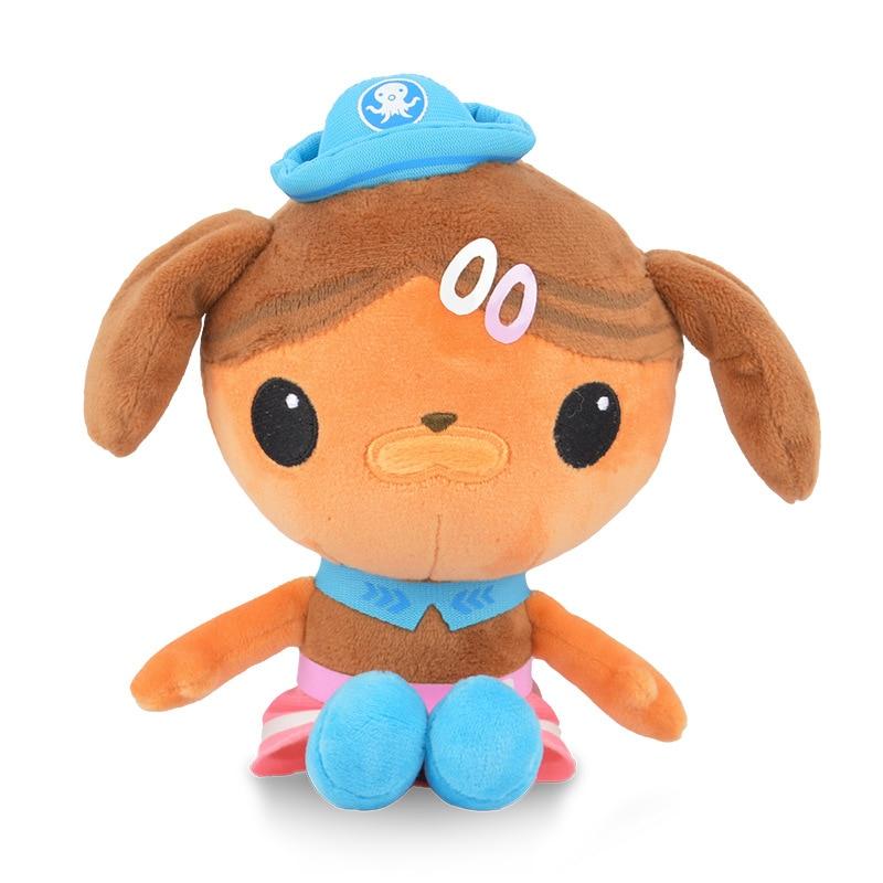 Original Octonauts 46cm/30cm/19cm Plush Toys Barnacles Peso Kwazii Tweak  Animal Stuffed Party Birthday Gift Kid Christmas Toy 6