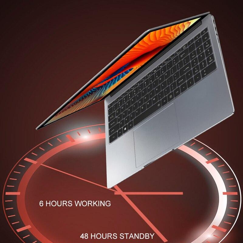 Core i7 Laptop 15.6 inch 8G/16G DDR4 RAM 128G/256G/512G/1TB SSD Notebook Computer Metal Body IPS Backlit Keyboard Laptop Gaming 3