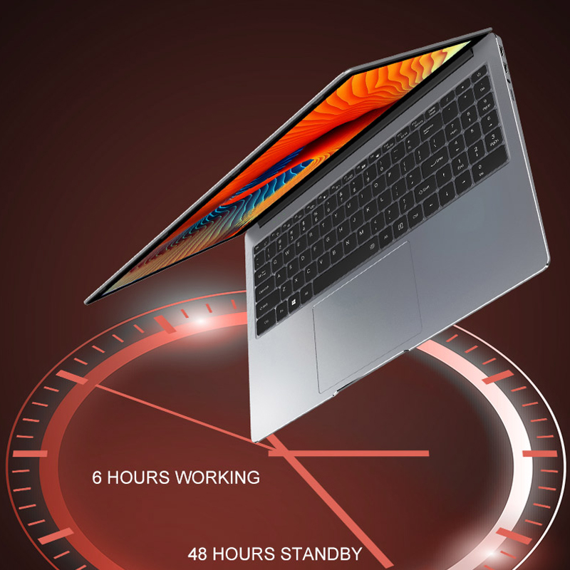 Core i7 ноутбук 15,6 inch 8G/16G DDR4 Оперативная память 128 г/256 г/512 г/1 ТБ SSD Тетрадь компьютер металлический корпус IPS ноутбук клавиатура с подсветкой игровая клавиатура