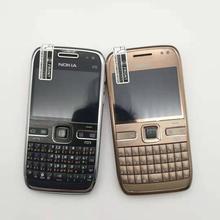 E72 Nokia E72 мобильный телефон 3g Wifi gps 5MP черный разблокированный E серия смартфон и один год гарантии отремонтированный