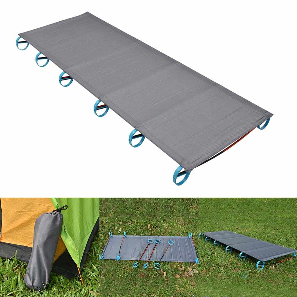 Folding Cot Bed Outdoor Backpacking Camping Ultralight Tent Waterproof Climber