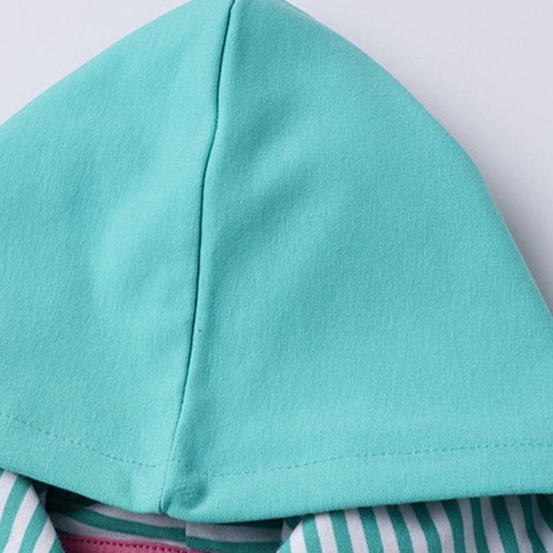Little maven 2-7Years Kids Girls Bird Hoodies Dress New Children's Girl's  Fancy Elegant Dresses Baby Hooded Clothes 3