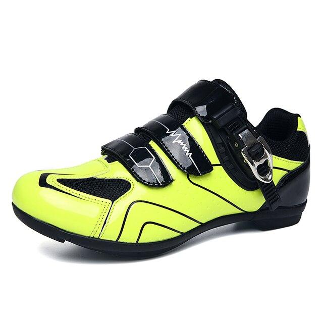 Profissional ao ar livre sapatos de ciclismo mtb respirável não-bloqueio de corrida sapatos de bicicleta de estrada dos homens tênis antiderrapante ciclismo sapatos de bicicleta 5