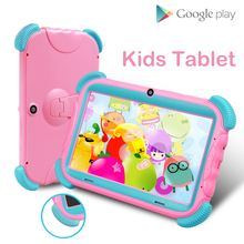 Kids Tablet 7 inch Android 8.1 Tablet For Kids 1GB RAM 16GB Wifi PC Tablets Quad Core Dual Camera Tablets Children Gift yuntab 7 inch q88 allwinner a33 quad core 512mb 8gb android 4 4 2 kids tablet pc hd screen dual camera with silicone case