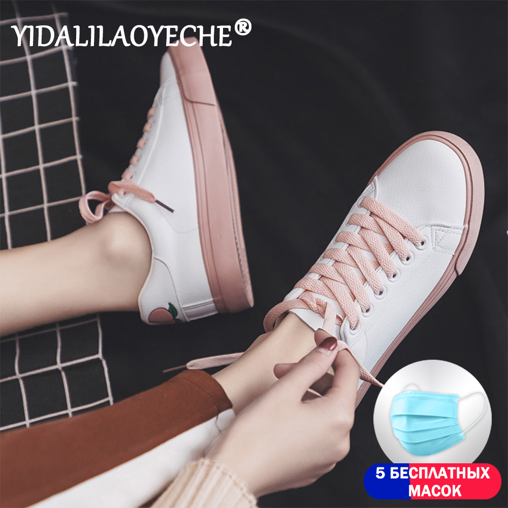 Fashion women shoes casual solid color PU round flat shoes women 2019 spring autumn casual sports shoes loafers leather shoes
