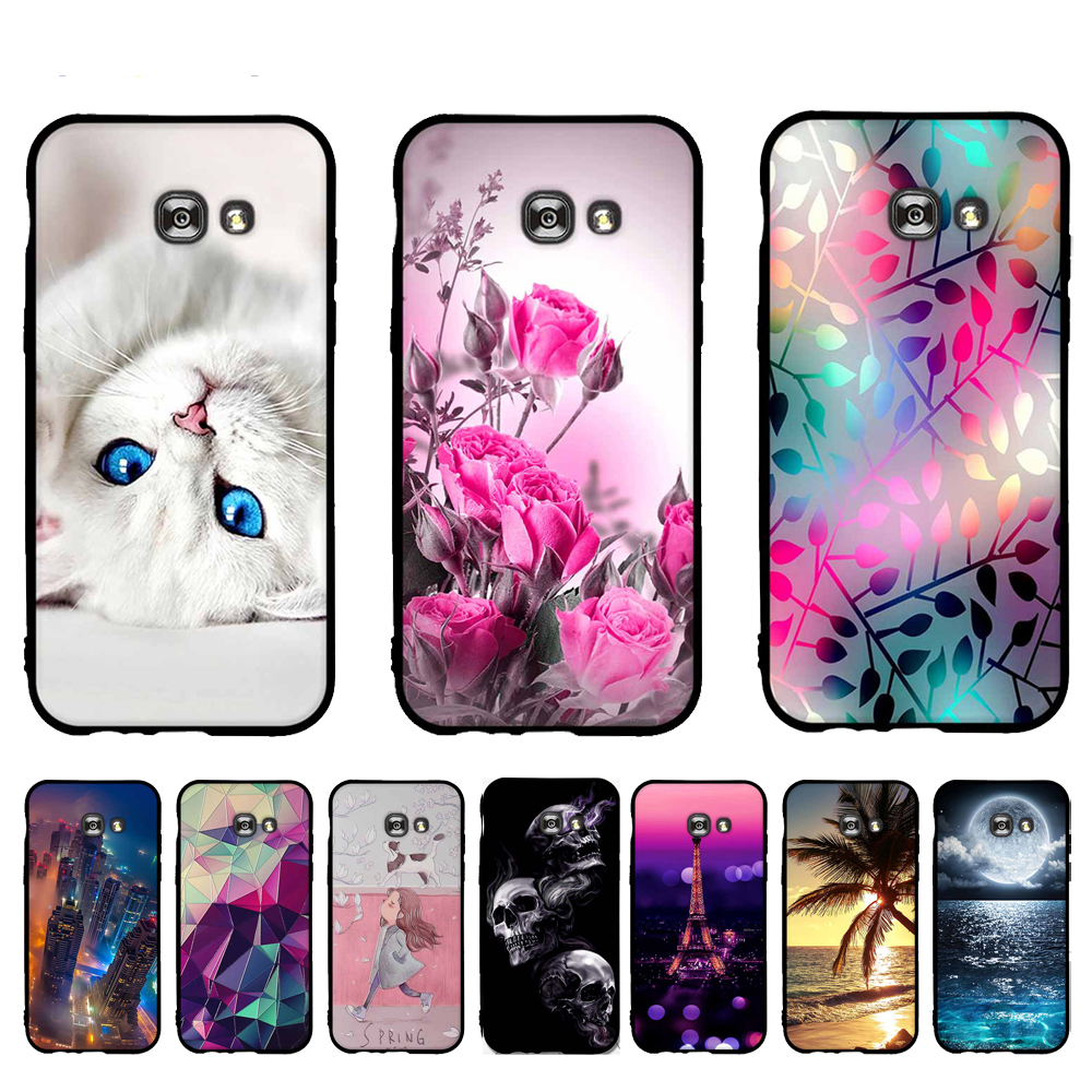 TPU Case for <font><b>Samsung</b></font> Galaxy A5 <font><b>2017</b></font> SM-A520F A520 A520F Case Soft Silicone Phone Cover for <font><b>Samsung</b></font> Galaxy <font><b>A</b></font> <font><b>5</b></font> <font><b>2017</b></font> Cover Shells image
