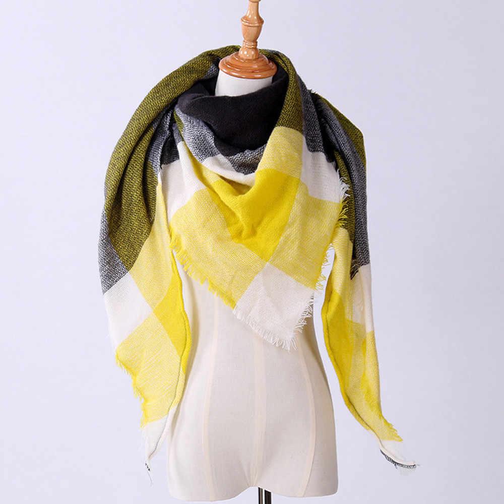 2019 Nieuwe herfst Winter Vrouwen Sjaal Kasjmier Herfst Plaid Wol Sjaals Sjaal Engeland klassieke plaid Warm Sjaals Wraps #926
