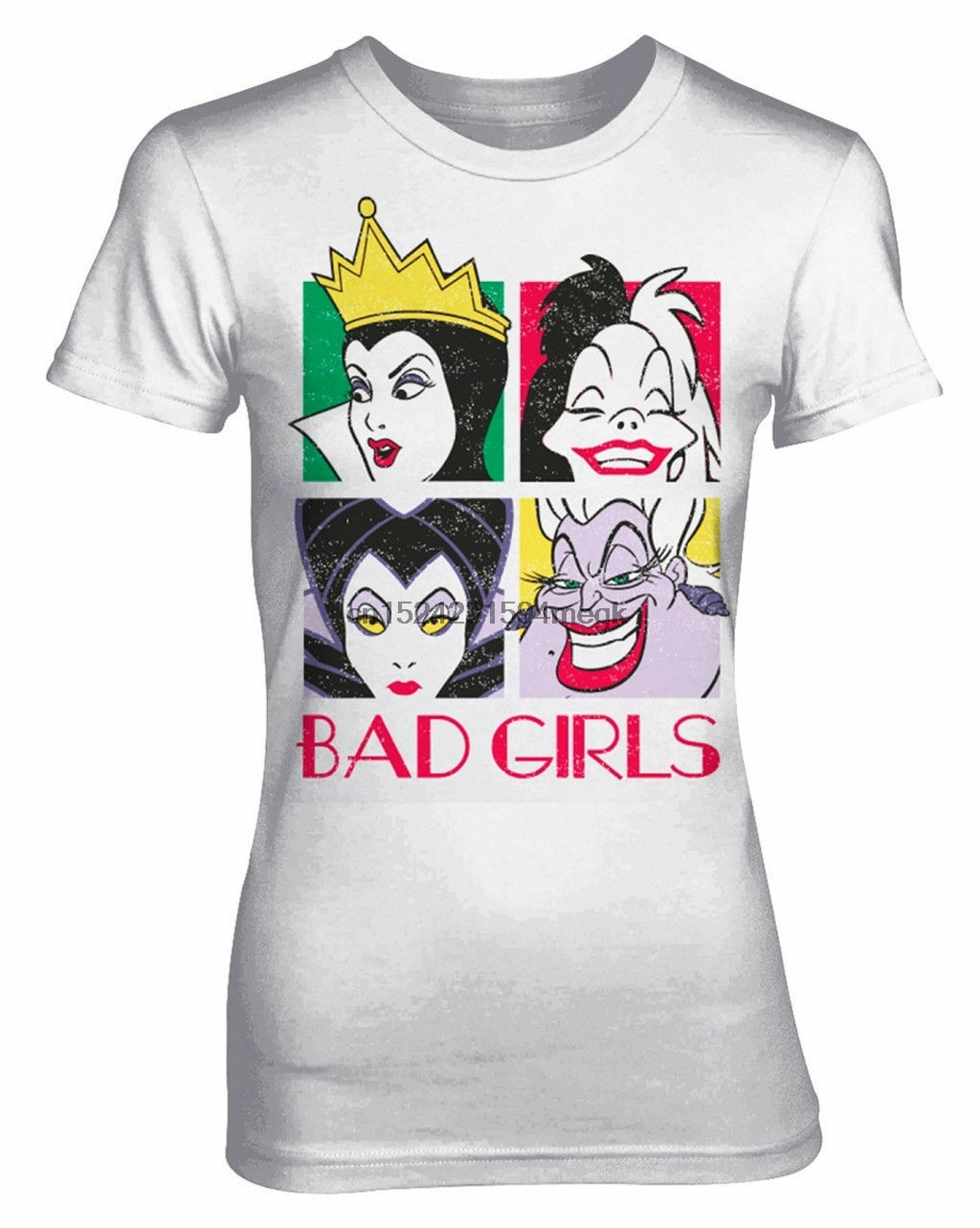 'Bad Girls' Womens Fitted T-Shirt - NEW &amp OFFICIAL!
