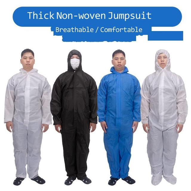 Disposable Protective Suit Ppe Suit Chemical Protection Work Clothes Protective Clothing Special Clothes Coverall