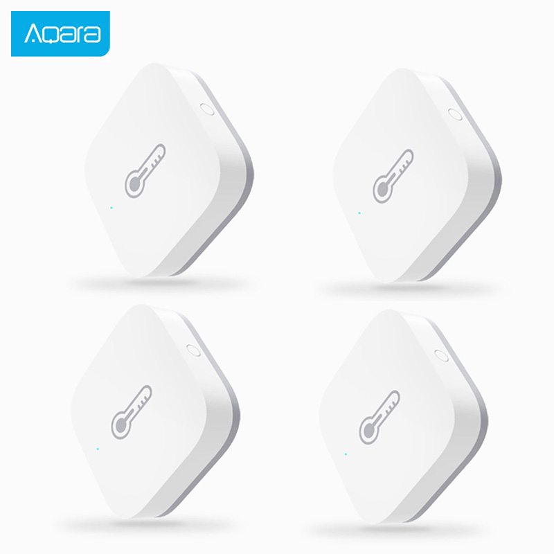 Aqara Temperature And Humidity Sensor Smart Air Pressure Environment Sensor Control Via Mihome APP Zigbee For Smart Home