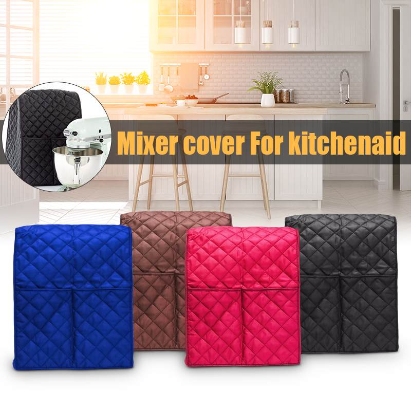 1pcs Kitchen Food Dust Cover Clean Pocket Storage Bag Food Dust Blender Cover Mixer Accessories For KitchenAid Stand Mixer Cover