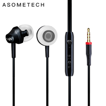 M8 Heavy Bass In Ear Earphone Music Headset with Mic Qulity Earbud fone de ouvido for iPhone Samsung Sony HTC Mp3 PC