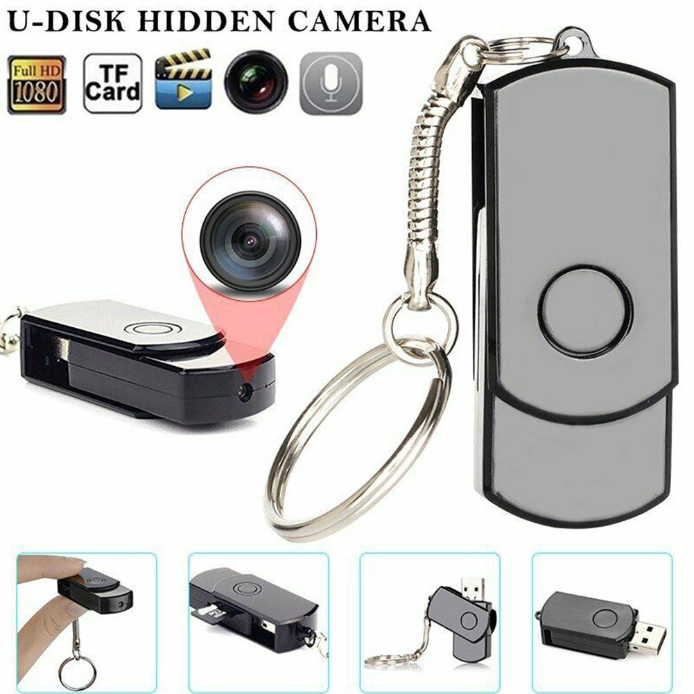 TWISTER.CK Rotating U Disk USB 2.0 Motion Detect Camera Monitor 1280*960 Without WIFI