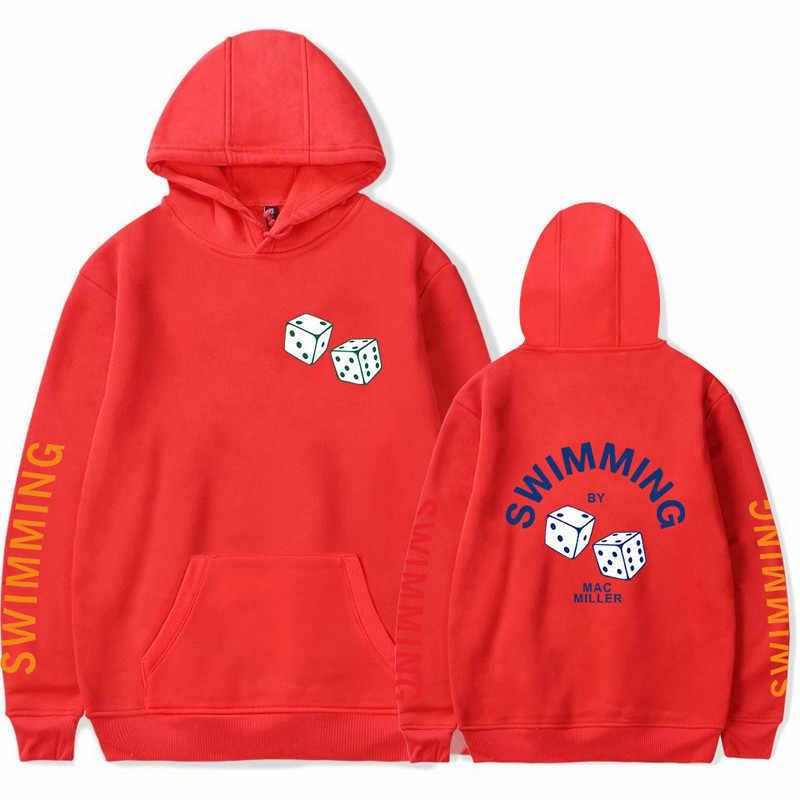 Rapper mac miller moletom com capuz moda casual homem/mulher hoodies k-pop mac miller comemorar ventilador traje confortável quente