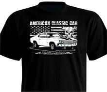 T camisa Oldtimer Chevelle Ss Coupe 1968, 1972, 396, 300 Deluxe Malibú Chevrolet(China)