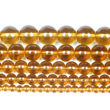 Стеклянные бусины из натурального камня, гладкие разноцветные Круглые бусины-шармы для изготовления ювелирных изделий, рукоделия, браслет...