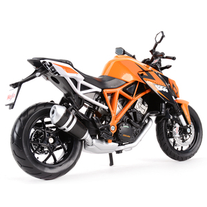 Image 3 - Maisto 1:12 KTM 1290 Super Duke R Orange Die Cast Vehicles Collectible Hobbies Motorcycle Model Toys
