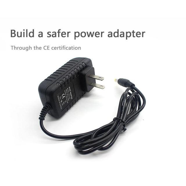 Meilleures offres Ac/Dc 12V 2A 24W adaptateur dalimentation transformateur pour 5050 3528 Led bande lumière nous Plug