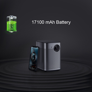 Image 4 - XGIMI Halo Smart Portable Mini Projector Android 9.0 Wifi 1080P 3D Home Theater With Battery Google OS Beamer Proyector HDMI usb