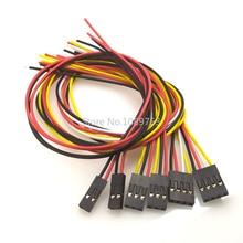 10PCS 20CM Single head Dupont Line Dupont connector plug with cable