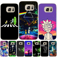 Rick And Morty Soft TPU Case Cover For Samsung Galaxy S10 Plus E S6 S7 Edge S8 S9 S10e S5 Mini Note 8 9 Silicon Coque