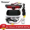 Światło stopu samochodu kamera tylna dla Citroen JUMPER III/fiat ducato X250/Peugeot BOXER III z wbudowanym 6 sztuk IR Led light
