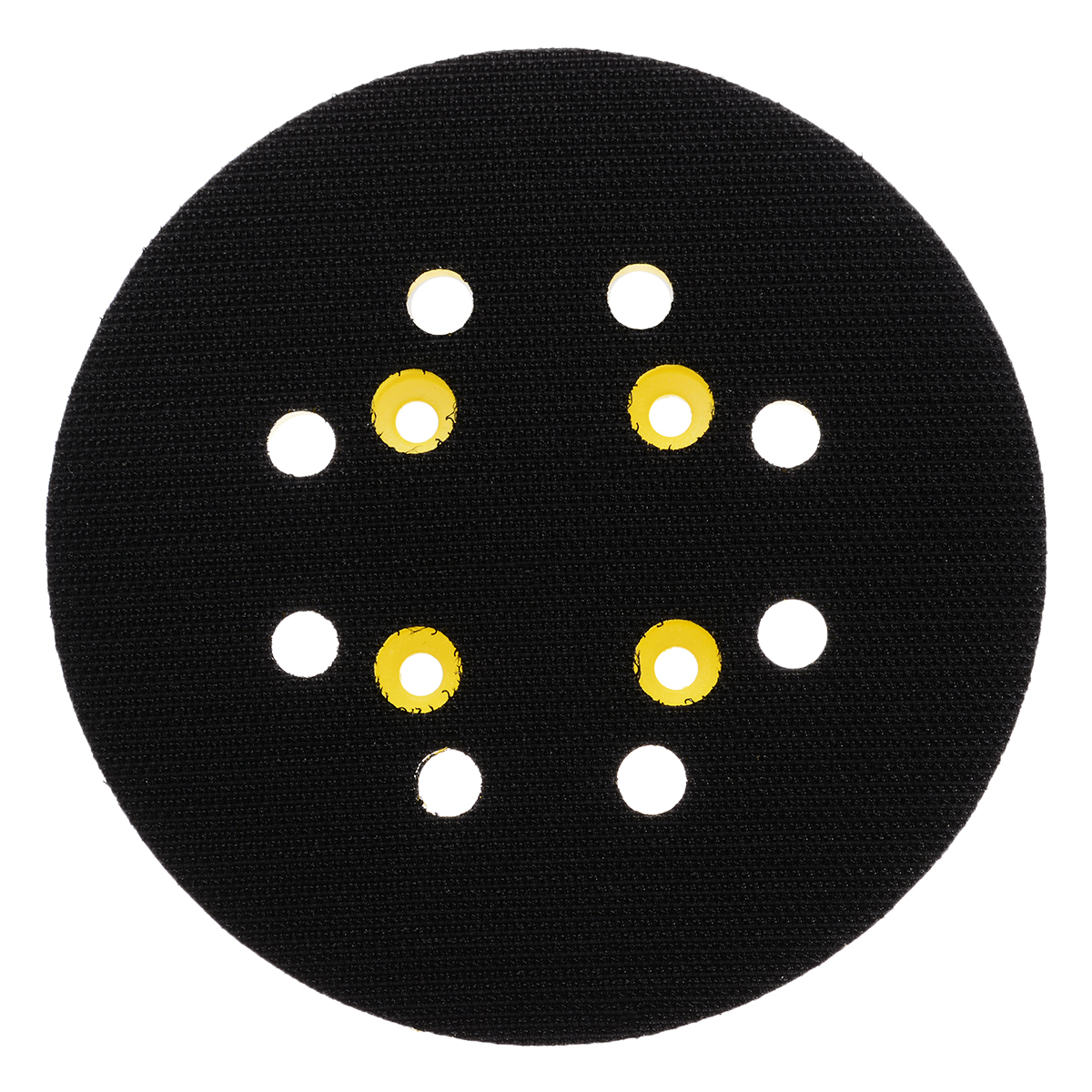 Image 4 - 5 Inch 8 Hole 125mm Back up Sanding Pad 4 Nails Hook and Loop Sander Backing Pad for Electric Grinder Power Tools Accessories-in Abrasive Tools from Tools