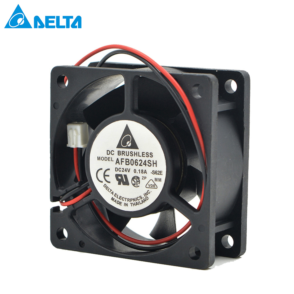 2406GL-05W-B39 60mm cooling fan New original 6015 24V 0.08A 6cm 3-wire double ball frequency converter fan