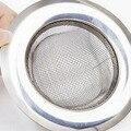 Новый 7,5 см Нержавеющаясталь Кухня фильтр раковины ситечко сливное отверстие ловушка металлическое ситечко для мойки Ванна сливная раков...