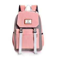 Fashion Backpack Women Men Large Capacity Couple Schoolbag High Quality Travel Hiking Backpacks Leisure School Bags for Teenage