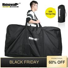 Rhinowalk 26 Inch Folding Bicycle Carry Bag Portable Cycling Bike Transport Case Travel Bicycle Accessories Bike Box